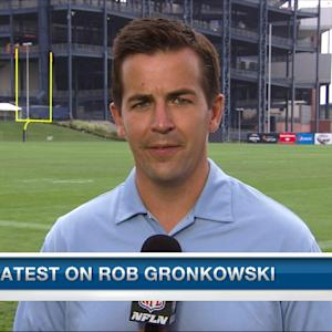 Albert Breer with the latest on New England Patriots tight end Gronkowski