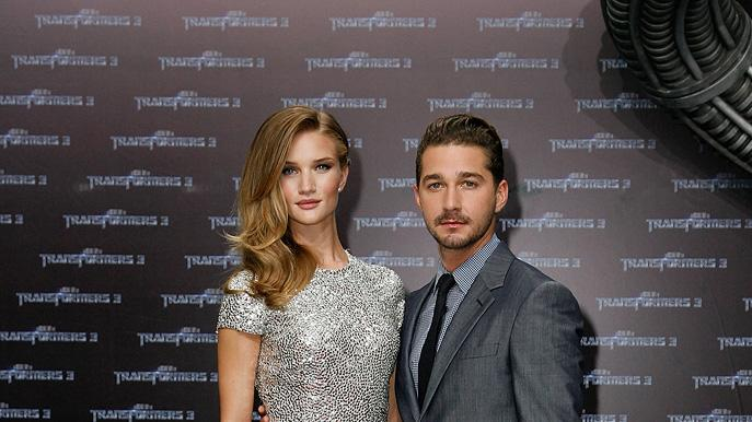 Transformers Dark of the Moon Premiere 2011 Rosie Huntington Whiteley Shia LaBeouf