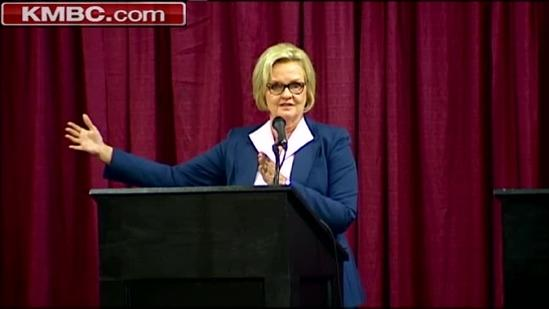 Akin squares off against McCaskill in Columbia