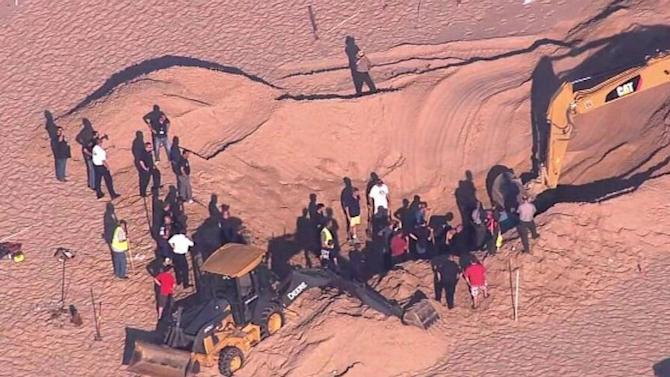 Boy Pulled From Sand Dune After 3+ Hours
