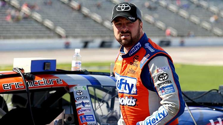 Memories, perspective for McClure in 'Dega return