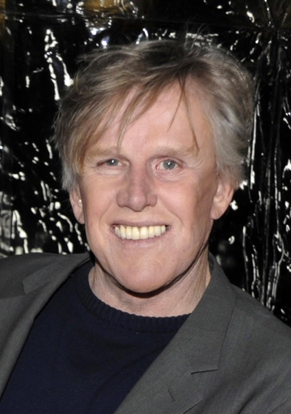 "FILE - In this Dec. 8, 2009 file photo, actor Gary Busey arrives at the premiere of the feature film ""Crazy Heart"" in Beverly Hills, Calif. Busey and former megachurch pastor Ted Haggard will participate in an upcoming episode of  the ABC series ""Celebrity Wife Swap."" (AP Photo/Dan Steinberg, file)"
