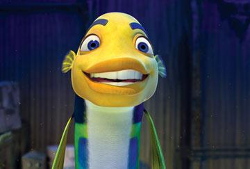 Oscar the fish ( Will Smith ) in Dreamworks' Shark Tale