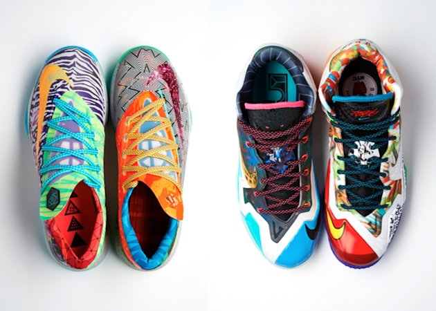 'What The' LeBron XI and KD VI