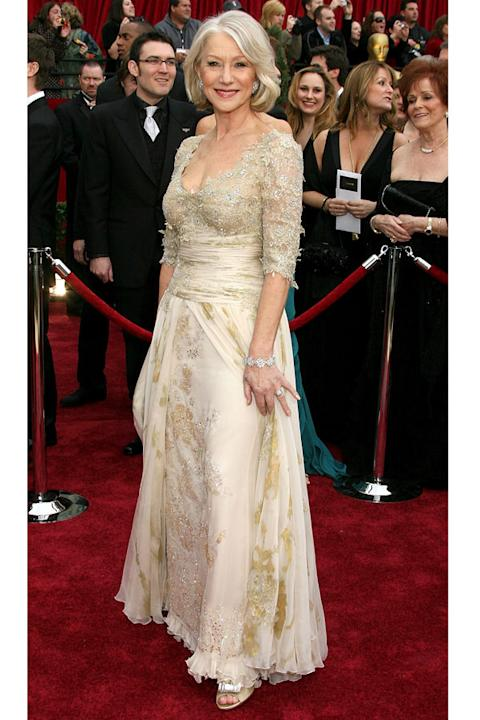 Helen Mirren in Christian Lacroix