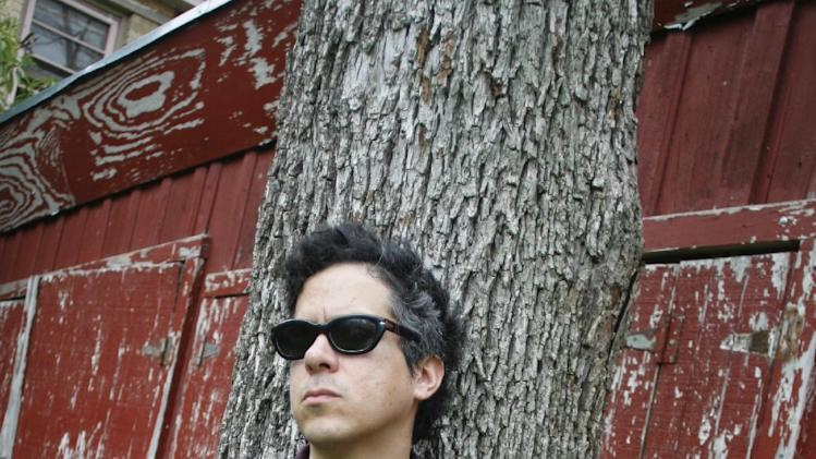 "In this March 13, 2012 photo, M. Ward poses for a photograph during the SXSW Music Festival in Austin, Texas.  Ward's latest album ""A Wasteland Companion,"" is his first solo album in three years. (AP Photo/Jack Plunkett)"