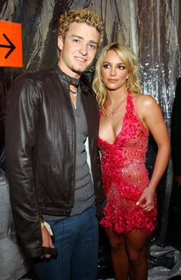 Justin Timberlake and Britney Spears 29th American Music Awards Los Angeles, CA - 1/10/2002
