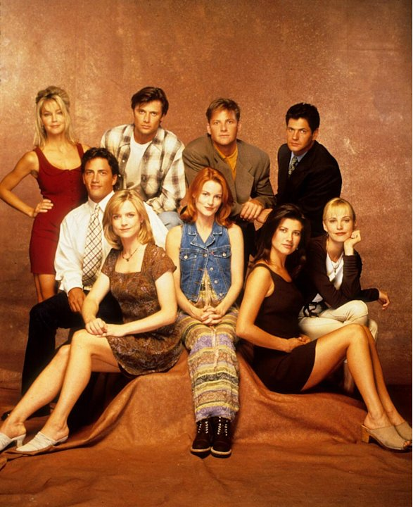 The Cast of Melrose Place. 