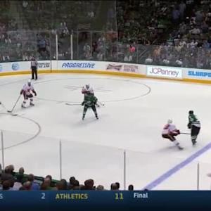 Jonas Hiller Save on Tyler Seguin (11:20/1st)