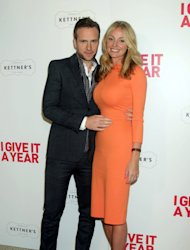 Rafe Spall is married to former Hollyoaks star Elize Du Toit