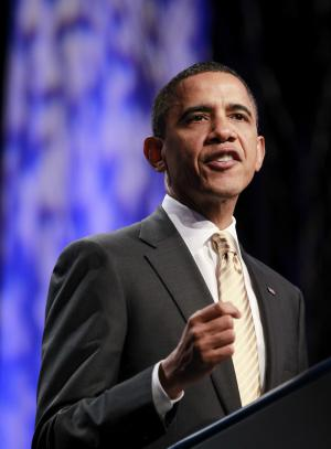 President Barack Obama delivers remarks at the 71st General Assembly of the Union for Reform Judaism, Friday, Dec. 16, 2011, in National Harbor, Md. (AP Photo/Haraz N. Ghanbari)