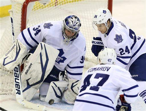 Maple Leafs earn first playoff berth since 2004