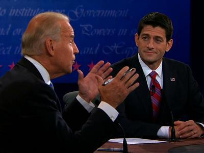 VP debate feisty, unlike Obama-Romney