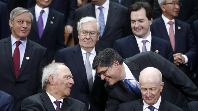 G-20 officials decry lack of global growth