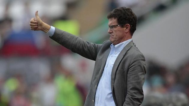 Russia coach Fabio Capello (Reuters)