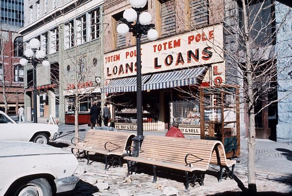 Cornerspotter: The Totem Pole Loaning Industry Ain't What it Used to Be