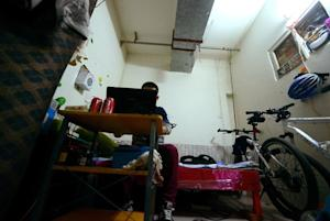 About 281,000 people live underground in Beijing according…
