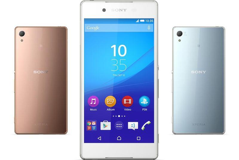 Sony announces the Xperia Z4 flagship smartphone in Japan