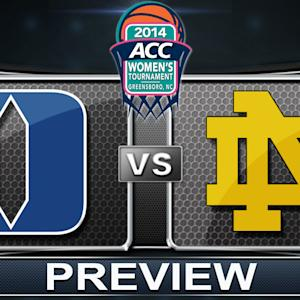 Duke vs Notre Dame Preview | ACC Women's Basketball Tournament Championship