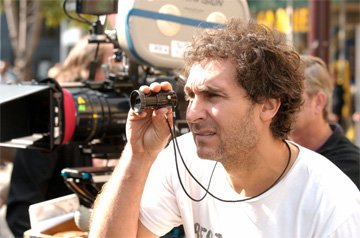 Director Doug Liman on the set of 20th Century Fox's Jumper