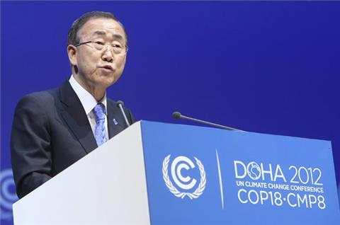 Ban calls for compromise at UN climate talks