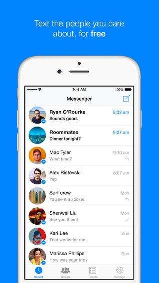 Facebook Messenger is 2014's most popular iPhone app in US
