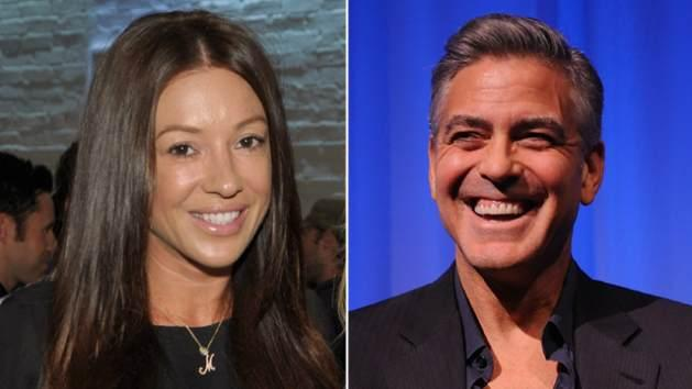 Monika Jakisic, George Clooney -- Getty Images