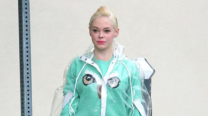 Rose McGowan Heads To The Salon
