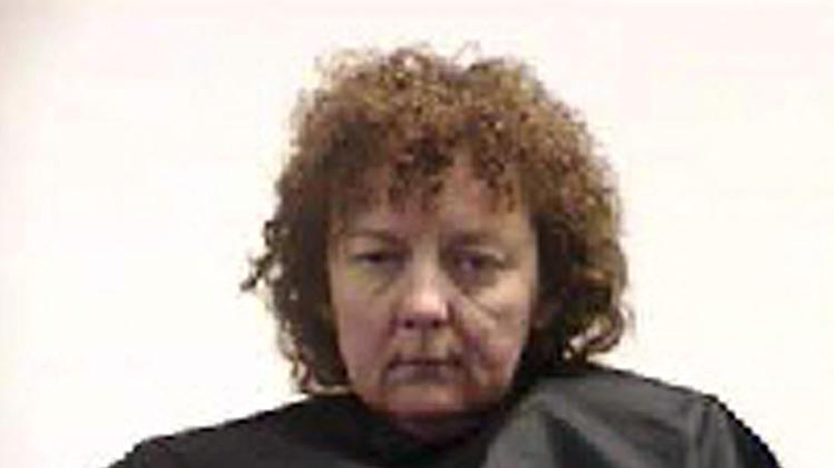 FILE - This undated photo released by the Pickens County Detention Center, S.C., shows Susan Hendricks of Liberty, S.C. Authorities say Hendricks killed her two sons, her ex-husband and her stepmother in October 2011, then tried to make it look like her son was the killer to collect about $700,000 worth of life insurance policies. Investigators say she left the gun used in all four killings by one of her sons and told deputies he was suicidal. In April, Hendricks pleaded guilty but mentally ill to all four of the Oct. 14, 2011, slayings and will spend the rest of her life in prison with no possibility of parole. (AP Photo/Pickens County Detention Center, File)