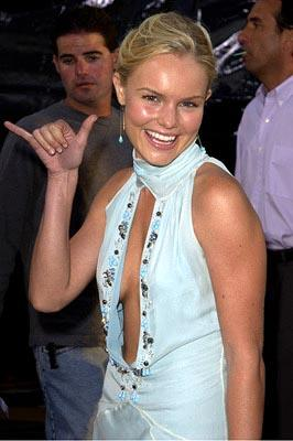 Premiere: Kate Bosworth at the LA premiere of Universal's Blue Crush - 8/8/2002