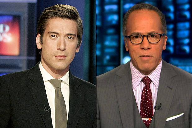 David Muir's 'World News Tonight' Edges Lester Holt's 'Nightly News' in Total Viewers
