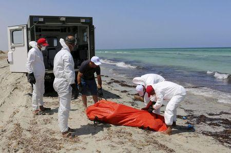 Migrant boat sinks off Libyan coast, kills at least 37: official