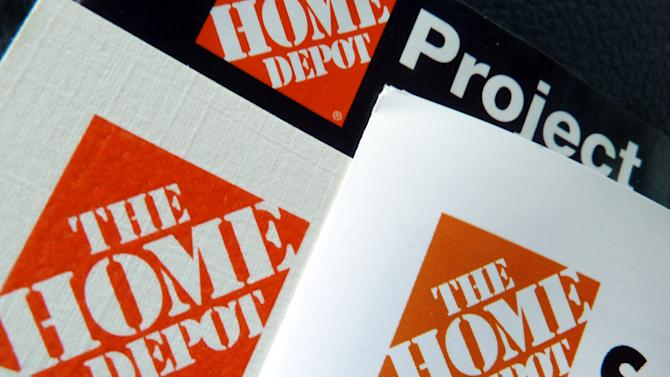 FILE - This May 14, 2012 file photo shows brochures at a Home Depot store in Danvers, Mass. The Home Depot Inc. reports quarterly financial results before the market opens on Tuesday, May 21, 2013. (AP Photo/Elise Amendola, File)