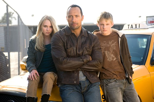 AnnaSophia Robb Alexander Ludwig Dwayne Johnson Carla Gugino Race to Witch Mountain Production Stills Walt Disney 2009