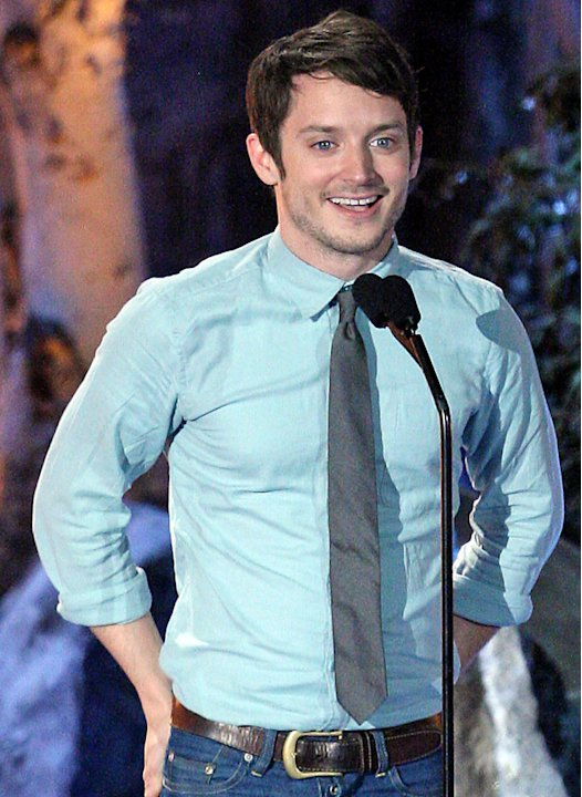 Elijah Wood onstage during Spike TV's Scream 2009 held at the Greek Theatre on October 17, 2009 in Los Angeles, California.