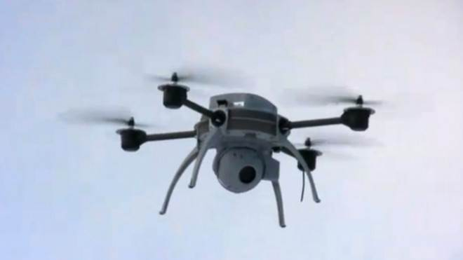The drone spotted near JFK airport was reportedly similar to this one produced by Aeryon Labs Inc.