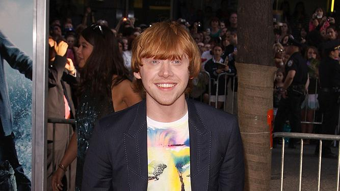 Harry Potter and the Half Blood Prince NY Premiere 2009 Rupert Grint