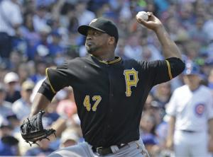 Liriano leads Pirates to 6-2 win over Cubs