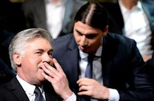 Ancelotti: Ibrahimovic has not asked to leave