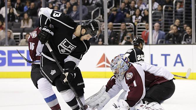 McGinn's OT goal lifts Avalanche over Kings 1-0