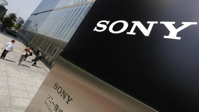 In this May 22, 2013 photo, Sony's logo is seen outside the company's headquarters in Tokyo. Sony Corp. needs more time to study a key proposal from a U.S. hedge fund to spin off a part of its entertainment unit as a way to propel its fledgling revival, the chief executive Kazuo Hirai told shareholders Thursday, June 20, 2013. (AP Photo/Itsuo Inouye)