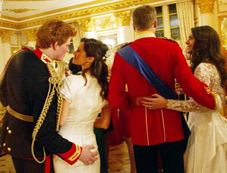 Prince Harry Gropes Pippa Middleton's Bum in Imagined Wedding Day Fling