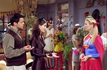 Matt LeBlanc, Courteney Cox and Lisa Kudrow in NBC's Friends
