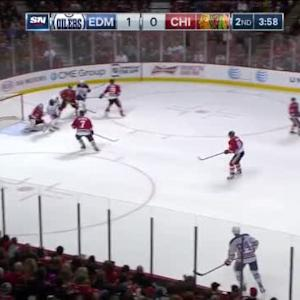 Corey Crawford Save on Jordan Eberle (16:07/2nd)