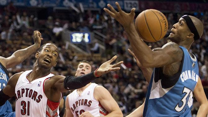 Timberwolves beats Raptors 101-89