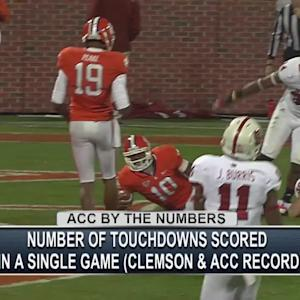 By the Numbers - Tajh Boyd