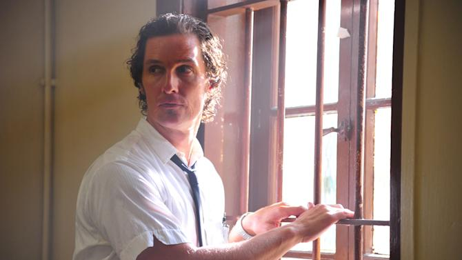 """This film image released by Millennium Films shows Matthew McConaughey in a scene from """"The Paperboy.""""  (AP Photo/Millennium Films, Anne Marie Fox)"""