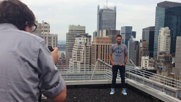 Behind the scenes of Clint Dempsey's fast & furious NYC media tour | SIDELINE