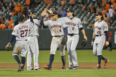 Say hey, baseball: It's almost June and the Astros lead MLB in wins