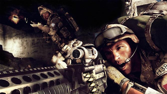 "This undated publicity photo provided by Electronic Arts Inc. shows a scene from the video game ""Medal of Honor: Warfighter."" Navy officials said last week that seven members of the secretive Navy SEAL Team 6, including one involved in the mission to take down Osama bin Laden, were reprimanded for disclosing classified information to the creators of ""Warfighter,"" a modern-day, first-person shooter from developer Danger Close Games and publisher Electronic Arts Inc. released Oct. 23, 2012. (AP Photo/Electronic Arts Inc.)"